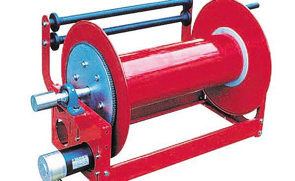 Rulo cuốn ống nước dùng động cơ WSBM